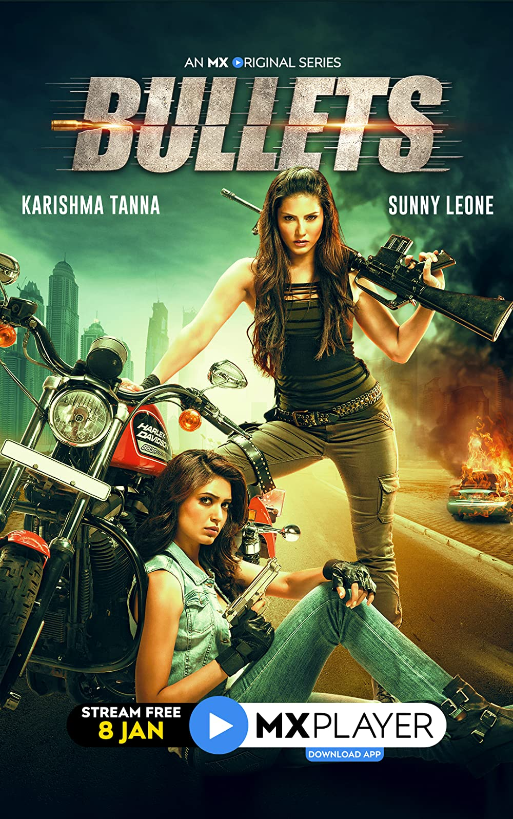 Bullets (2021) S01 Hindi MX Original Complete Web Series 480p HDRip x264 400MB