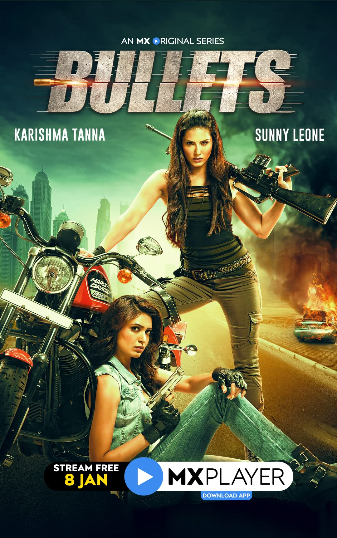 Bullets 2021 UNRATED 480p HDRip Hindi S01 Complete Web Series ESubs 350MB