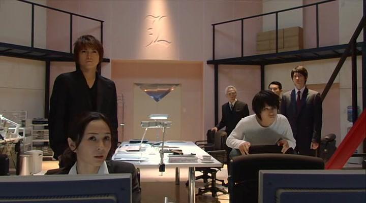 Shunji Fujimura, Tatsuya Fujiwara, Miyuki Komatsu, Ken'ichi Matsuyama, and Sota Aoyama in Death Note - Desu nôto: The Last Name (2006)