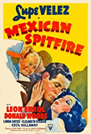 Mexican Spitfire Poster