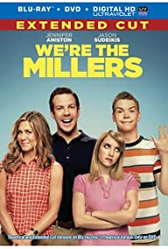 Jennifer Aniston, Emma Roberts, Jason Sudeikis, and Will Poulter in We're the Millers: The Miller Makeovers (2013)