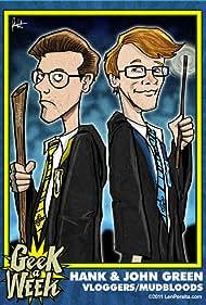 John Green and Hank Green in Brotherhood 2.0 (2007)
