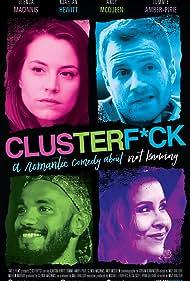 Kjartan Hewitt, Tommie-Amber Pirie, Glenda MacInnis, and Andy McQueen in Clusterf*ck (2017)