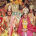 Deepika Chikhalia and Arun Govil in Ramayan (1987)