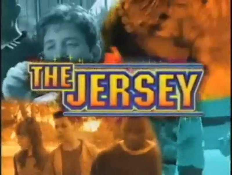 Michael Galeota, Courtnee Draper, Theo Greenly, and Jermaine Williams in The Jersey (1999)