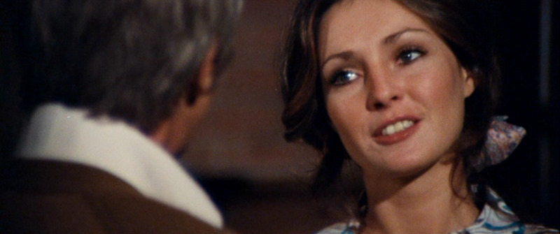 James Coburn and Jennifer O'Neill in The Carey Treatment (1972)