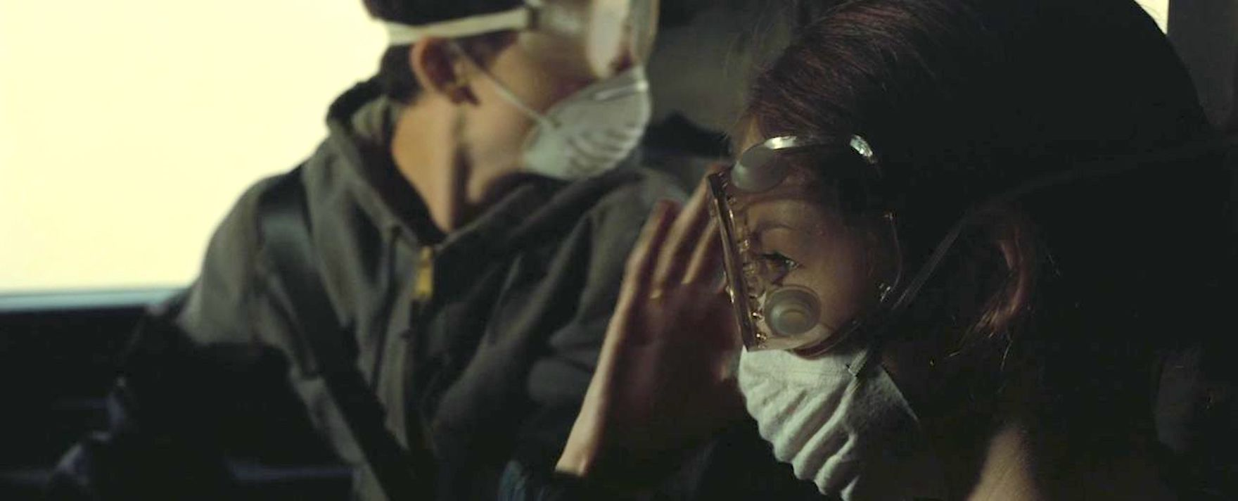 Timothée Chalamet and Mackenzie Foy in Interstellar (2014)