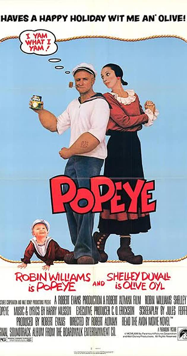Popeye 1980 Soundtracks Imdb
