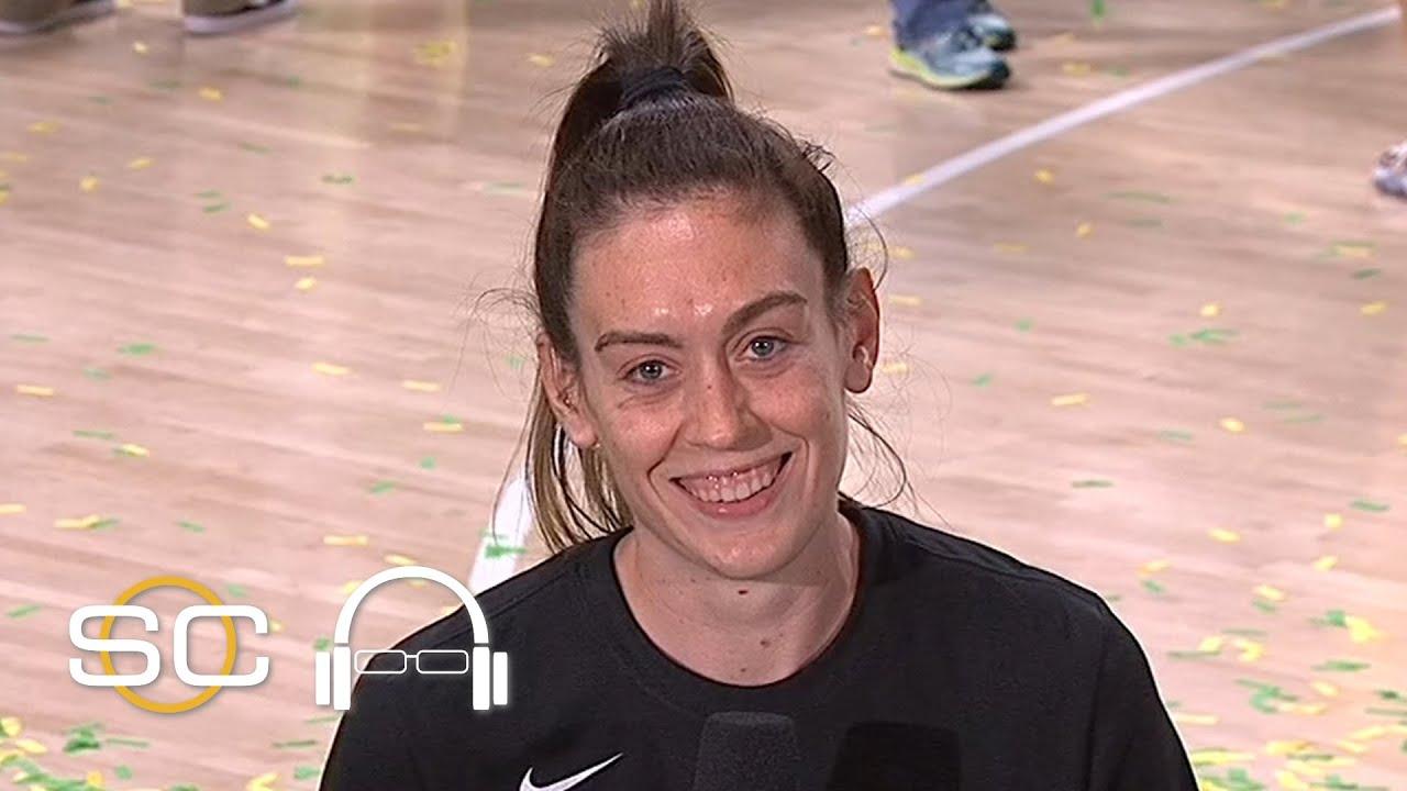 Breanna Stewart in SportsCenter (1979)