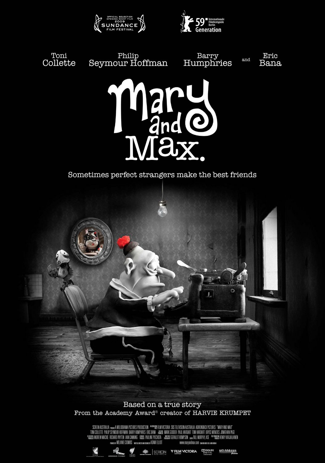 Mary And Max 2009 Imdb Movie Posters Of Imaginary Worlds A Diagram The Real World
