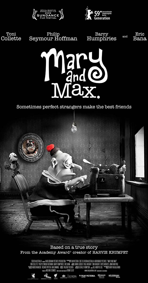 Mary And Max Awards Imdb
