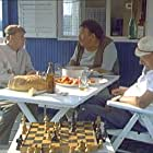Miodrag Petrovic-Ckalja, Milivoje 'Mica' Tomic, and Pavle Vuisic in Kamiondzije opet voze (1984)