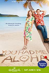 Kavan Smith and Pascale Hutton in You Had Me at Aloha (2021)