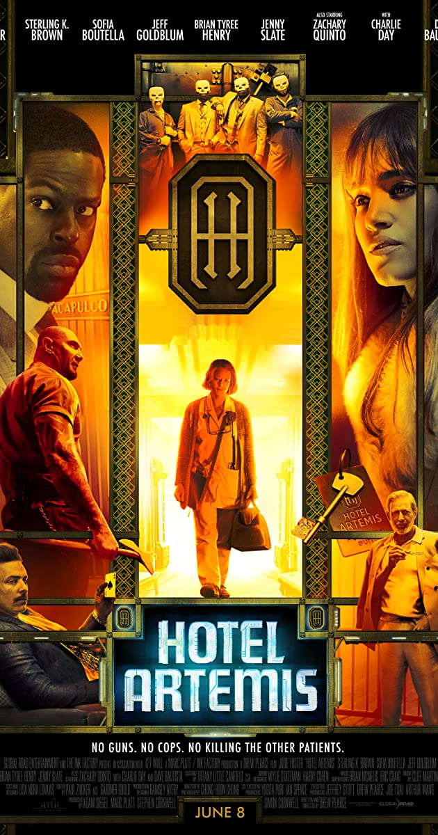 Watch Full HD Movie Hotel Artemis (2018)