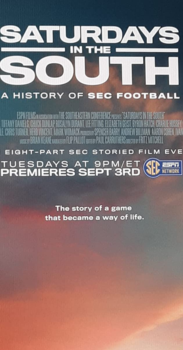 Download Saturdays in the South: A History of SEC Football or watch streaming online complete episodes of  Season 1 in HD 720p 1080p using torrent