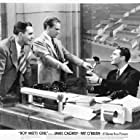 James Cagney, Ralph Bellamy, and Pat O'Brien in Boy Meets Girl (1938)