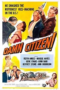 God online film å se på nettsteder Damn Citizen USA  [movie] [iPad] [720x1280] (1958)