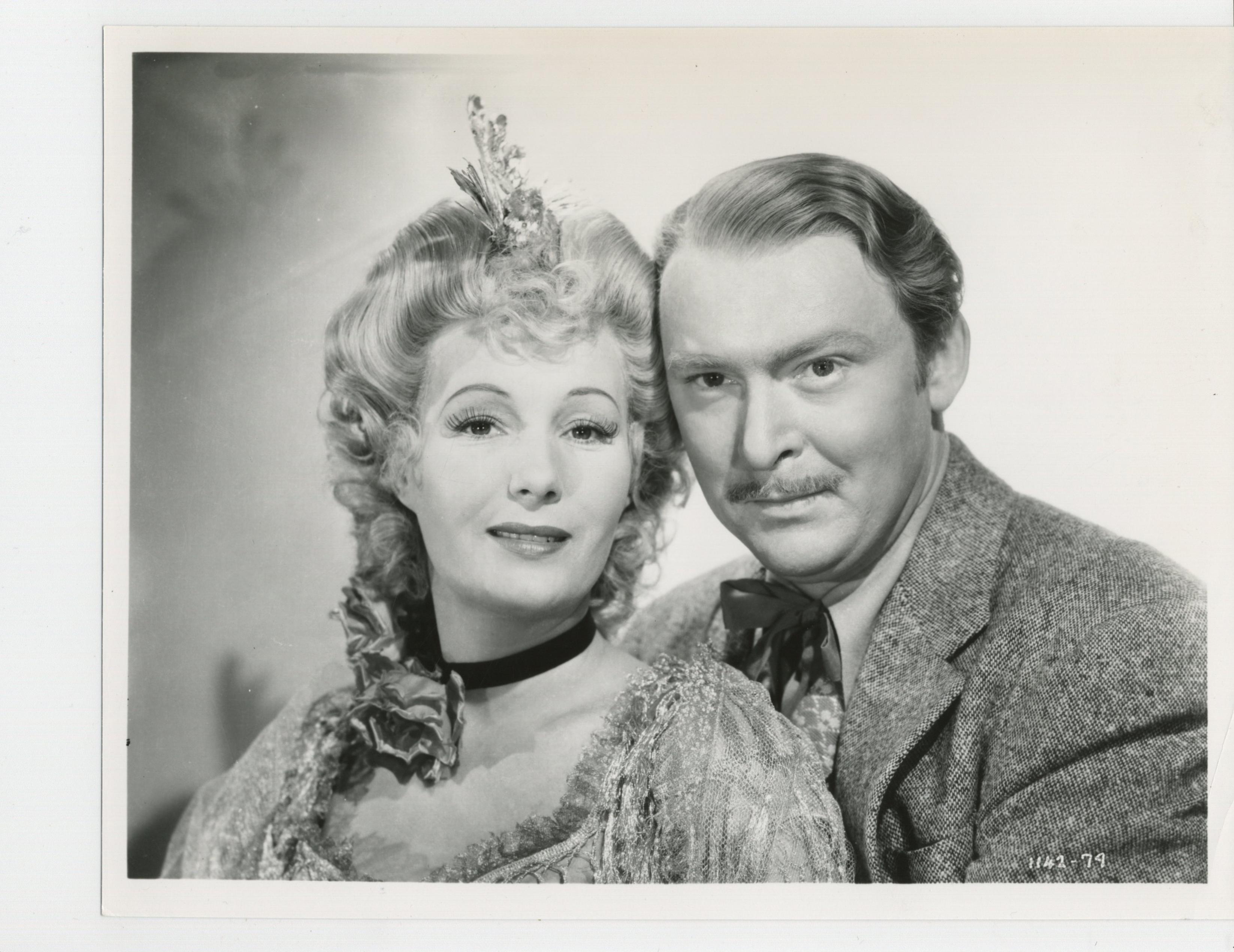 Binnie Barnes and Albert Dekker in In Old California (1942)