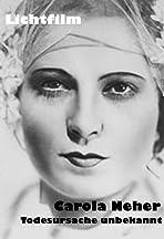 Carola Neher - Todesursache unbekannt