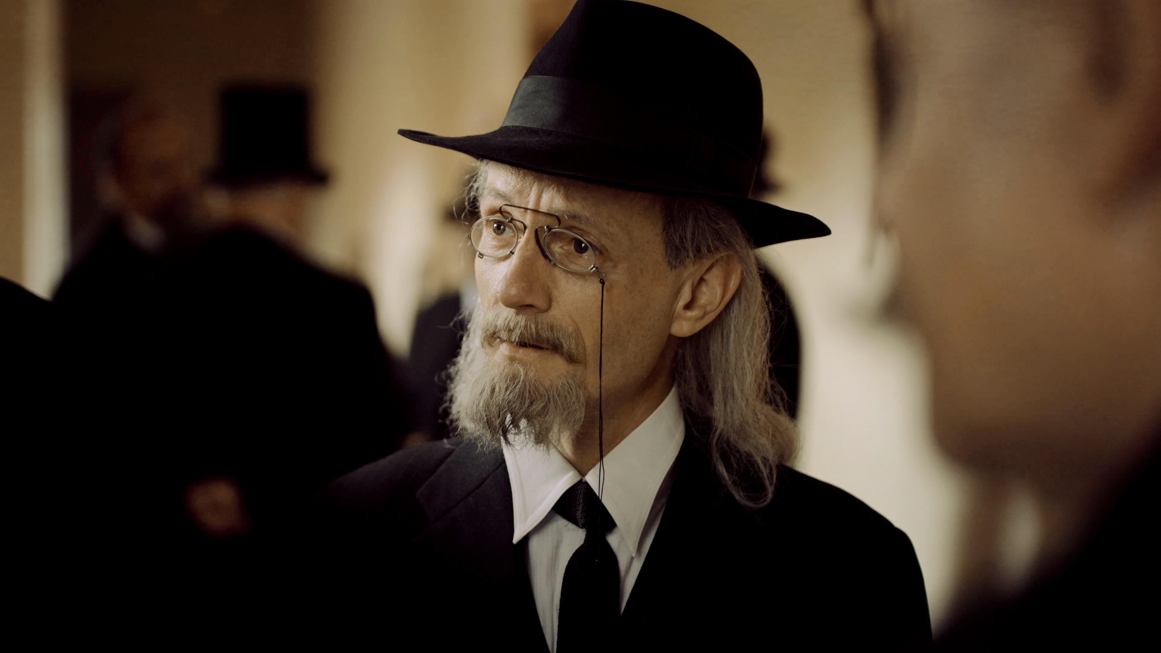 Michael Ihnow as Kurt Eisner in BAYERNS WEG ZUR DEMOKRATIE