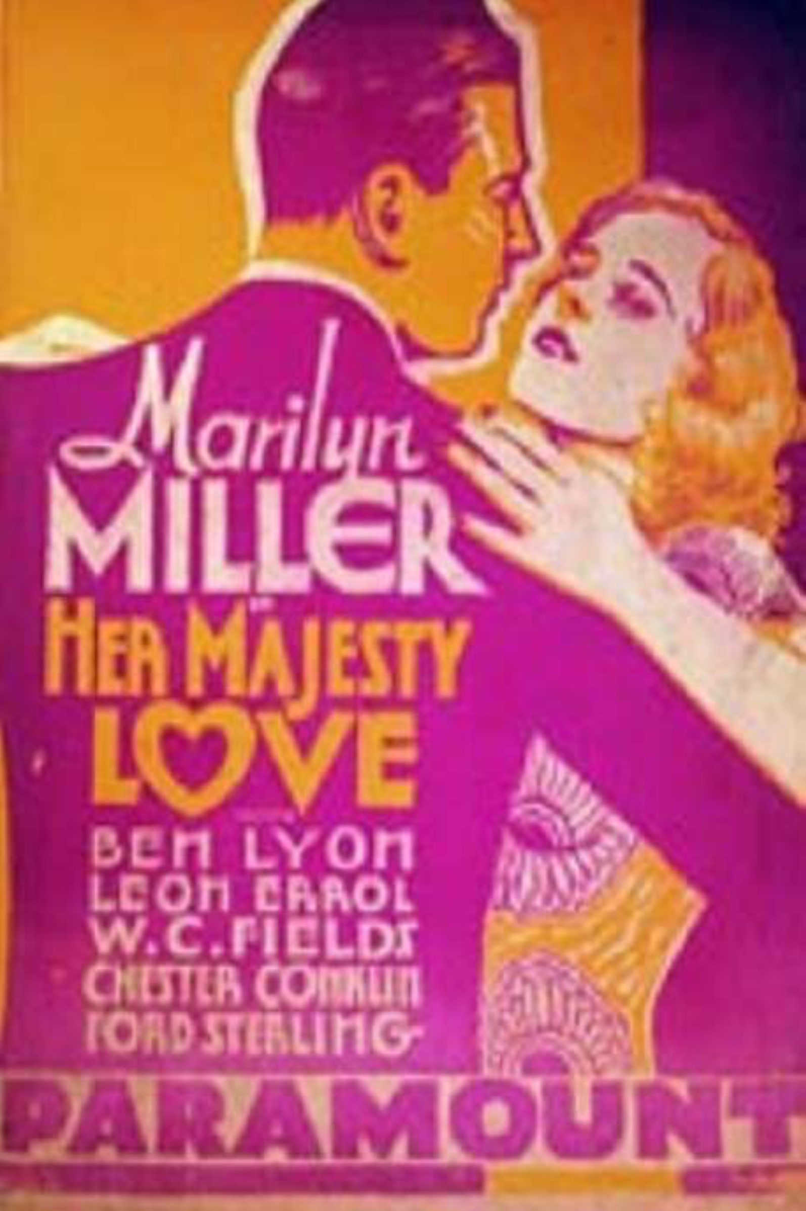 Her Majesty, Love (1931)