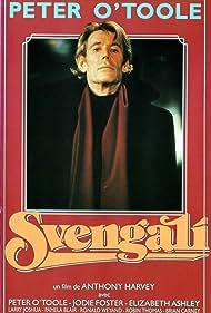 Peter O'Toole in Svengali (1983)