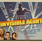 Peter Lorre, Jon Hall, and Ilona Massey in Invisible Agent (1942)