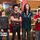 Greg Baker, Steve Valentine, Stephen Full, and Logan Miller in I'm in the Band (2009)