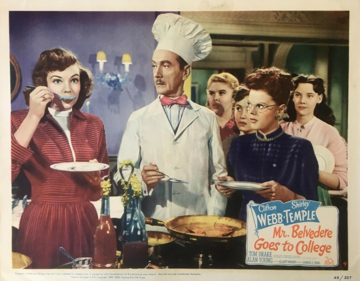 Clifton Webb in Mr. Belvedere Goes to College (1949)