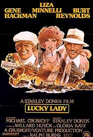 Gene Hackman, Burt Reynolds, and Liza Minnelli in Lucky Lady (1975)