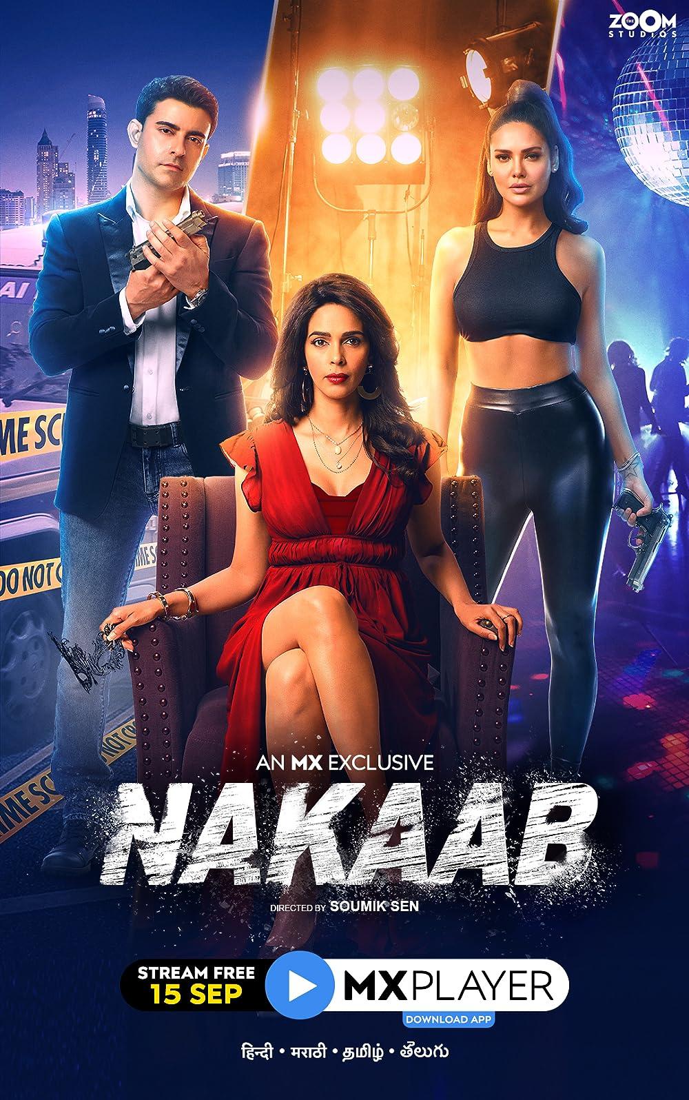 18+ Nakaab 2021 S01 Hindi MX Original Complete Web Series 480p HDRip 800MB x264 AAC
