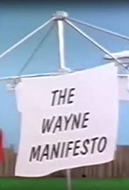 The Wayne Manifesto Poster