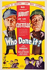 Who Done It? (1942) Poster - Movie Forum, Cast, Reviews