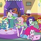 Tara Strong, Tabitha St. Germain, Andrea Libman, Cathy Weseluck, Rebecca Shoichet, and Ashleigh Ball in My Little Pony: Equestria Girls - Rainbow Rocks (2014)