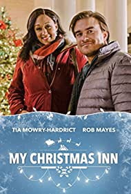 Tia Mowry-Hardrict and Rob Mayes in My Christmas Inn (2018)