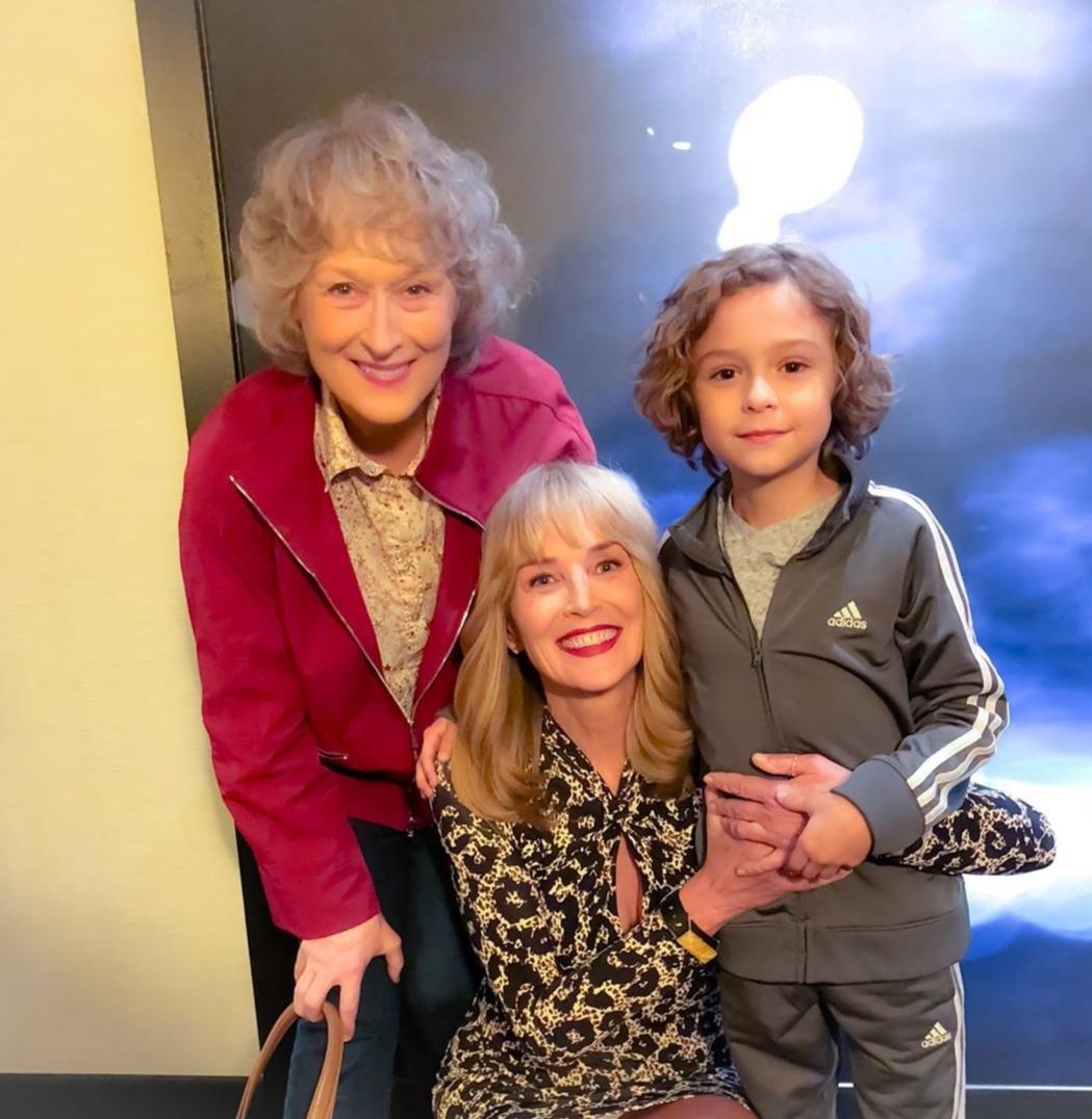 Sharon Stone, Meryl Streep, and Brock Brenner in The Laundromat (2019)