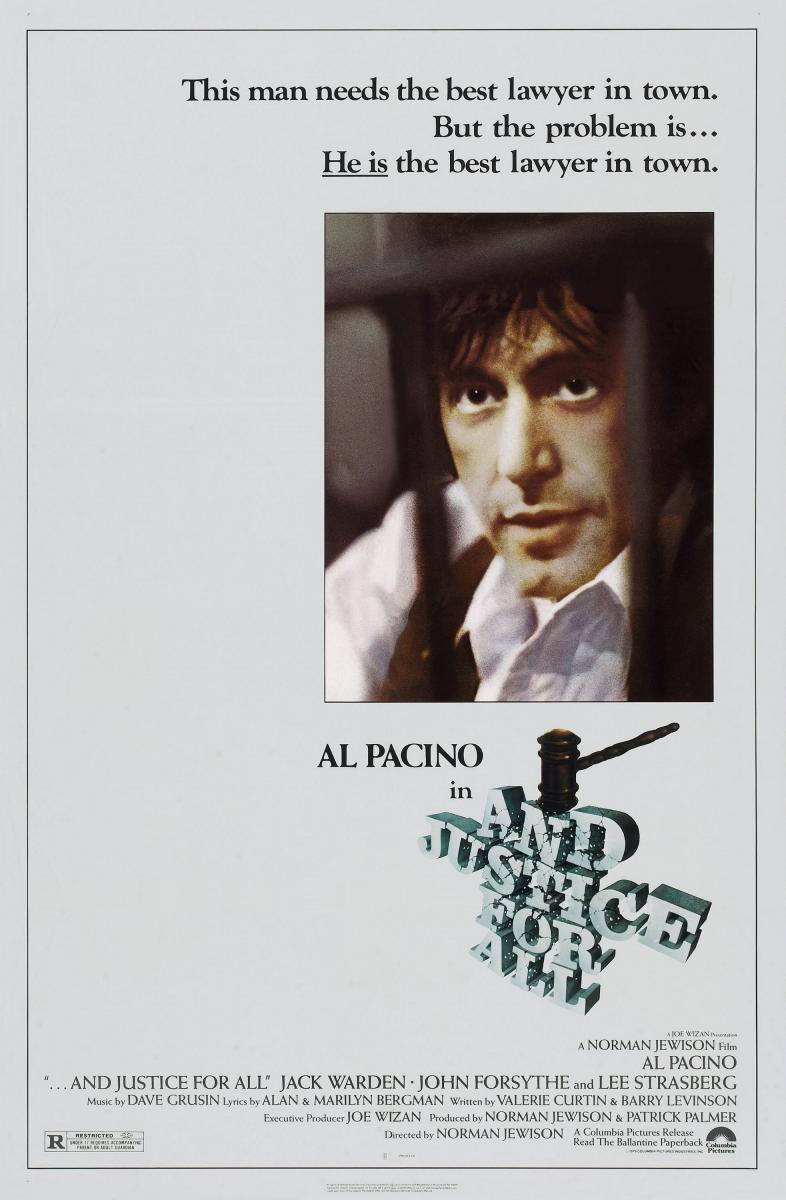 ...and justice for all. (1979) BluRay 720p & 1080p