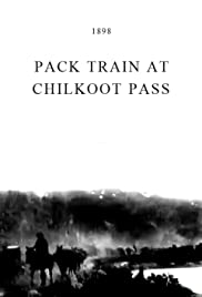 Pack Train at Chilkoot Pass Poster