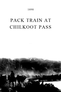Pack Train at Chilkoot Pass USA