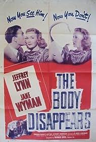 Jeffrey Lynn and Jane Wyman in The Body Disappears (1941)