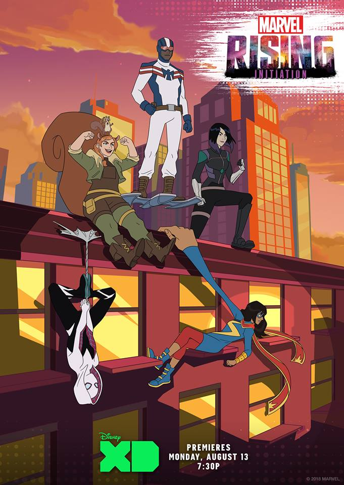 Marvel Rising: Initiation 1080p Latino Por Mega