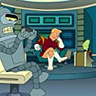 Maurice LaMarche, John DiMaggio, and Billy West in Futurama: Into the Wild Green Yonder (2009)