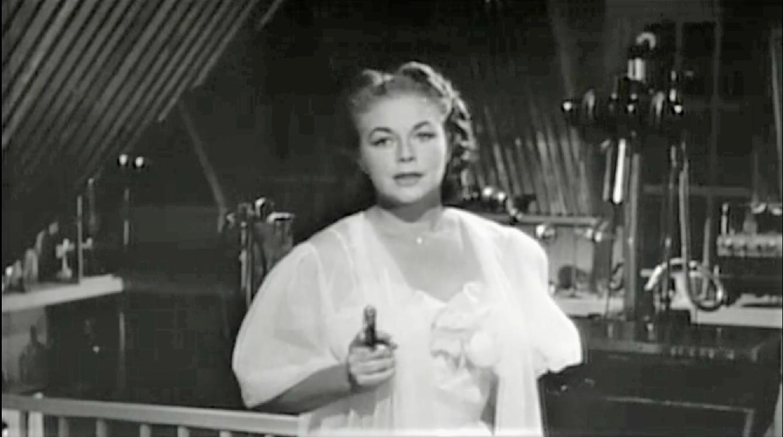 Marguerite Chapman in The Amazing Transparent Man (1960)