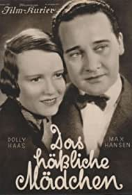 Dolly Haas and Max Hansen in Das häßliche Mädchen (1933)
