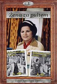 Zena za pultem Poster
