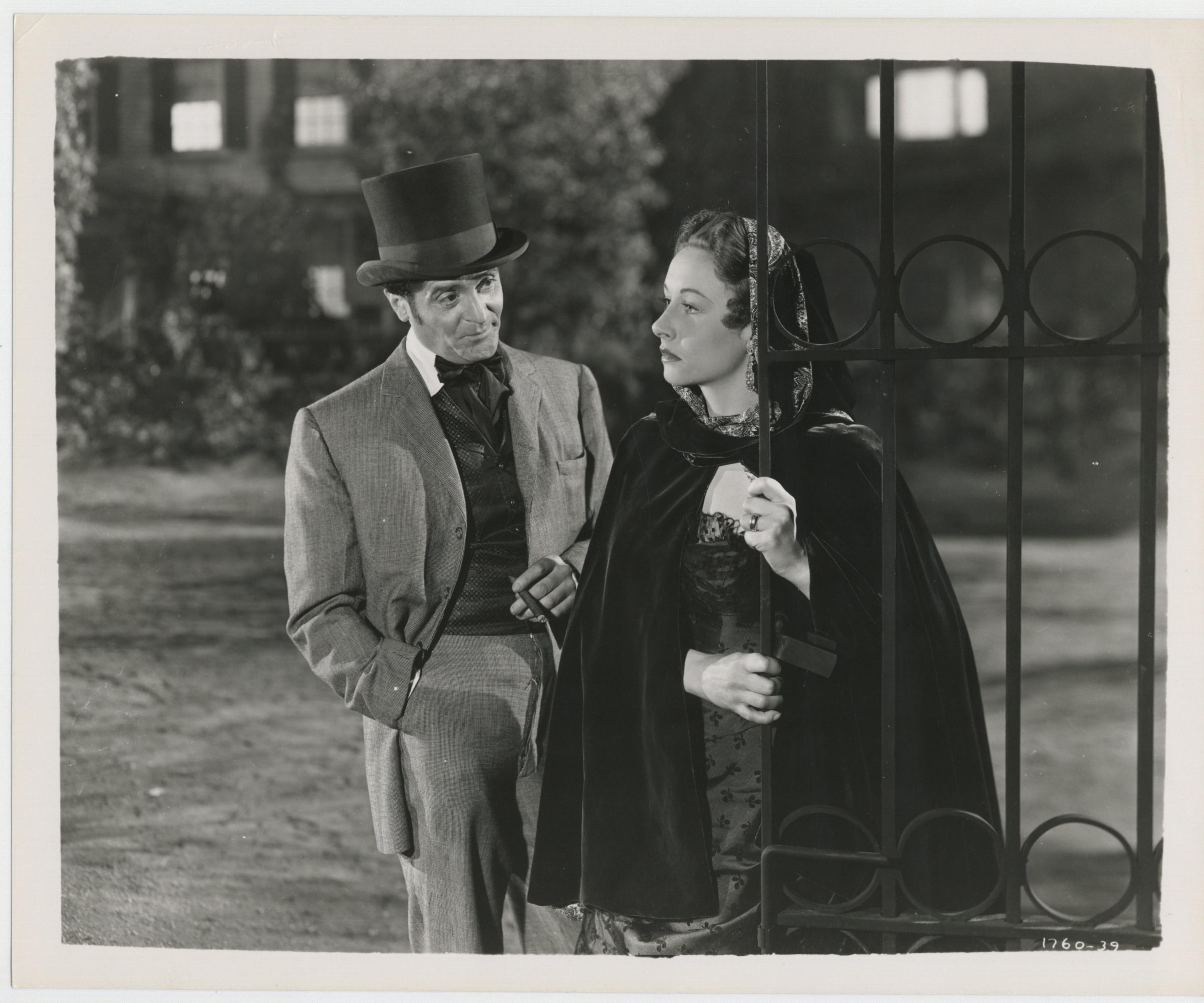Francis Lederer and Vera Ralston in Surrender (1950)