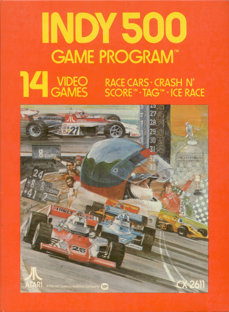 Indy 500 (Video Game 1978) - IMDb