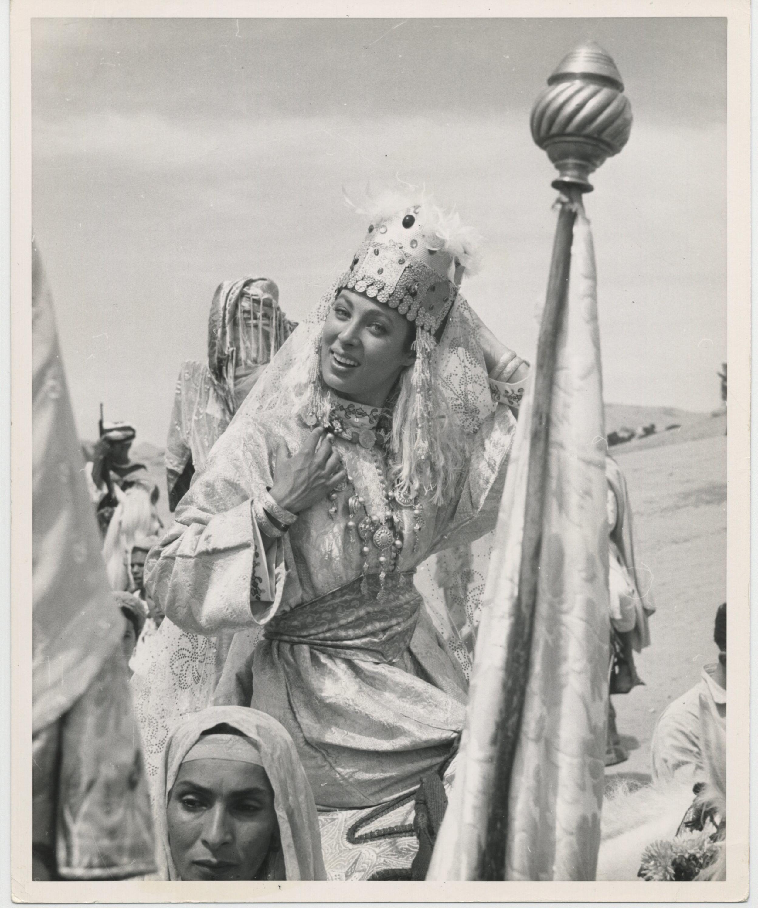 Rita Gam in Saadia (1953)