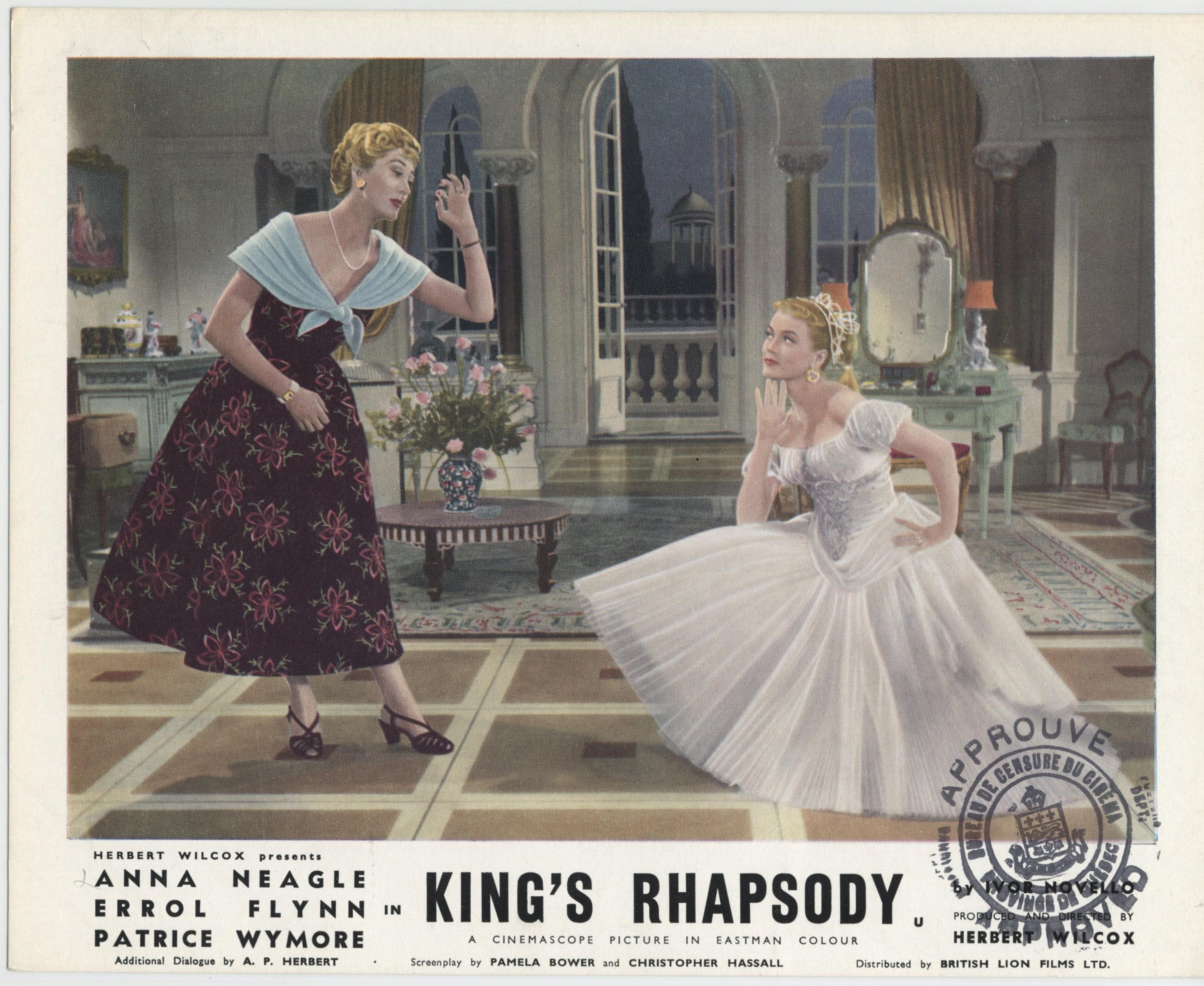 Joan Benham and Patrice Wymore in King's Rhapsody (1955)
