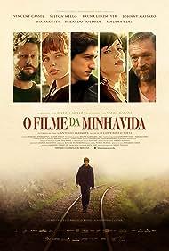 Vincent Cassel, Selton Mello, Johnny Massaro, Bia Arantes, and Bruna Linzmeyer in O Filme da Minha Vida (2017)